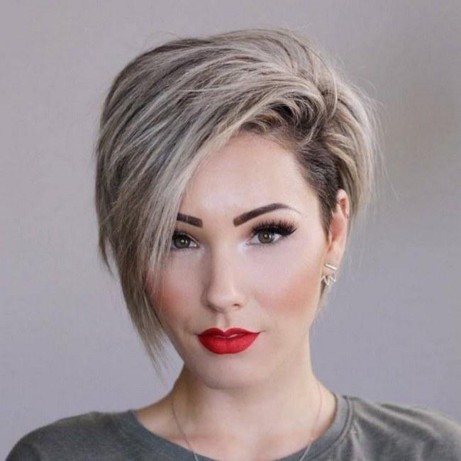 Стрижка на короткие волосы 2021 модные тренды