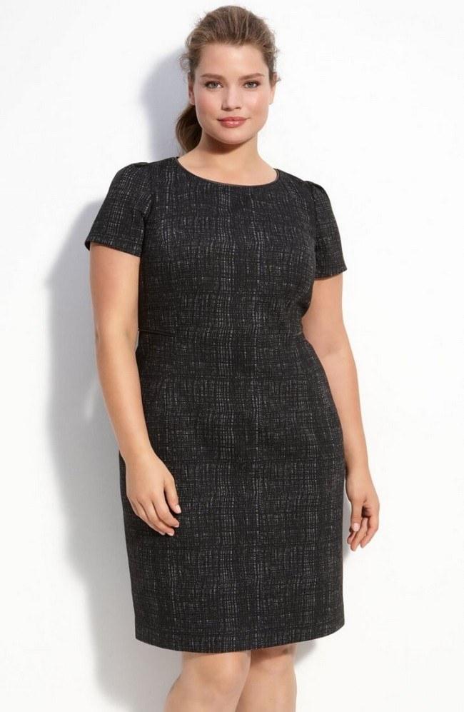Модные платья для полных женщин 2019 фото новинки