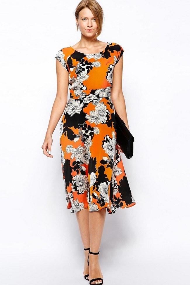 Модные платья лето 2019 фото фасон тенденции для женщин 50 лет