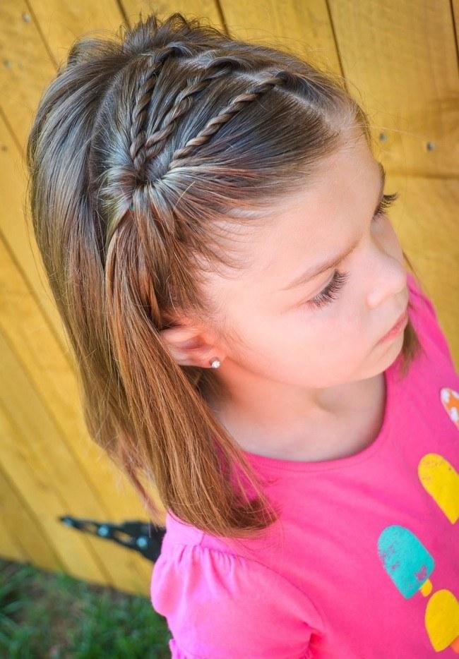 Причёски 2019 на 1 сентября на короткие волосы