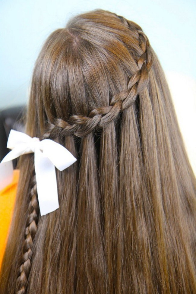 Причёски 2021 на 1 сентября на длинные волосы