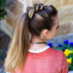 Причёски 2019 на 1 сентября на длинные волосы