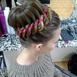 Причёски 2019 на 1 сентября на средние волосы