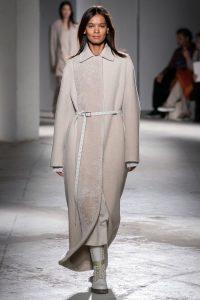 Трендовые пальто весна осень 2019-2020 модные силуэты цвета и фасоны