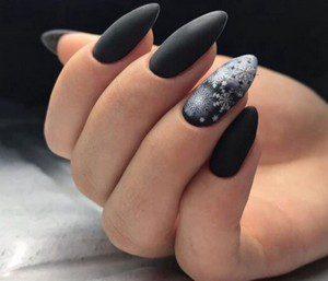 Новогодний дизайн ногтей фото новинки 2019 зима фото