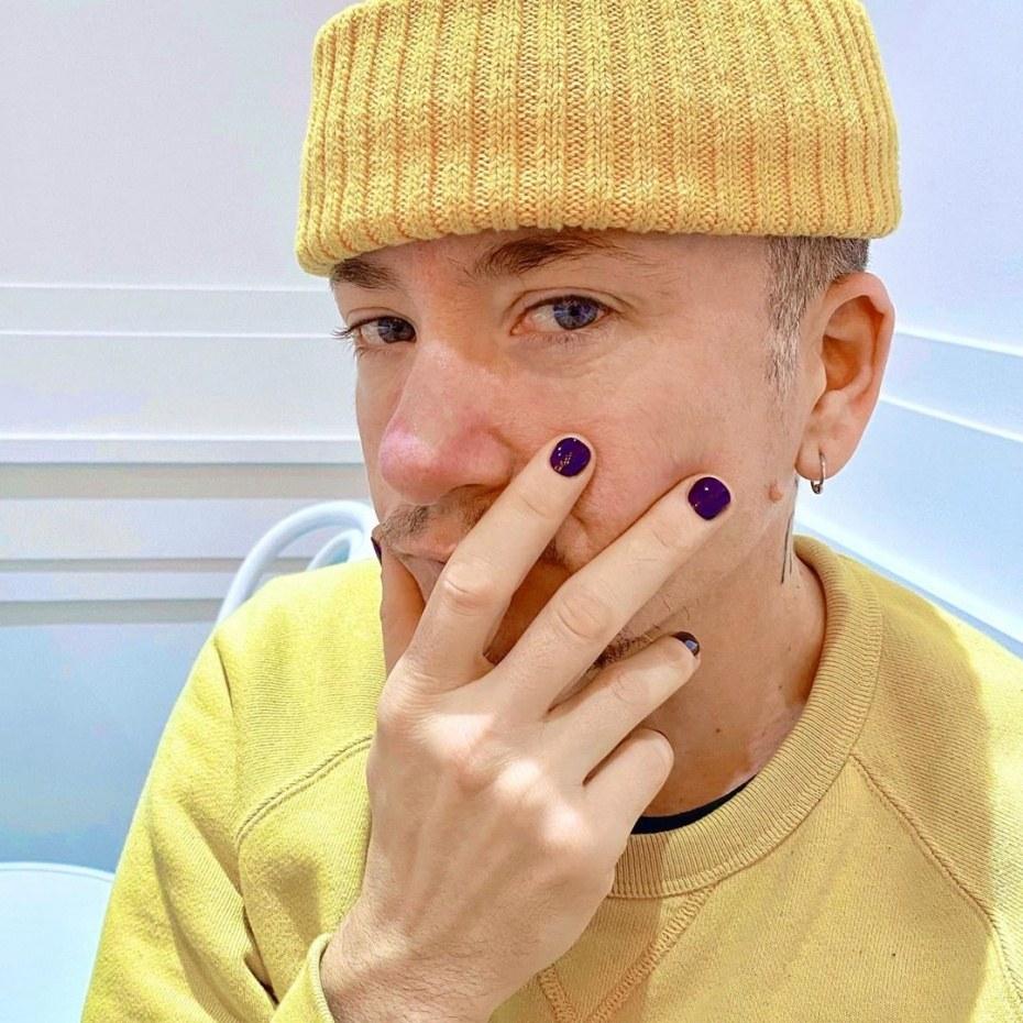 Мужской маникюр 2021 фото
