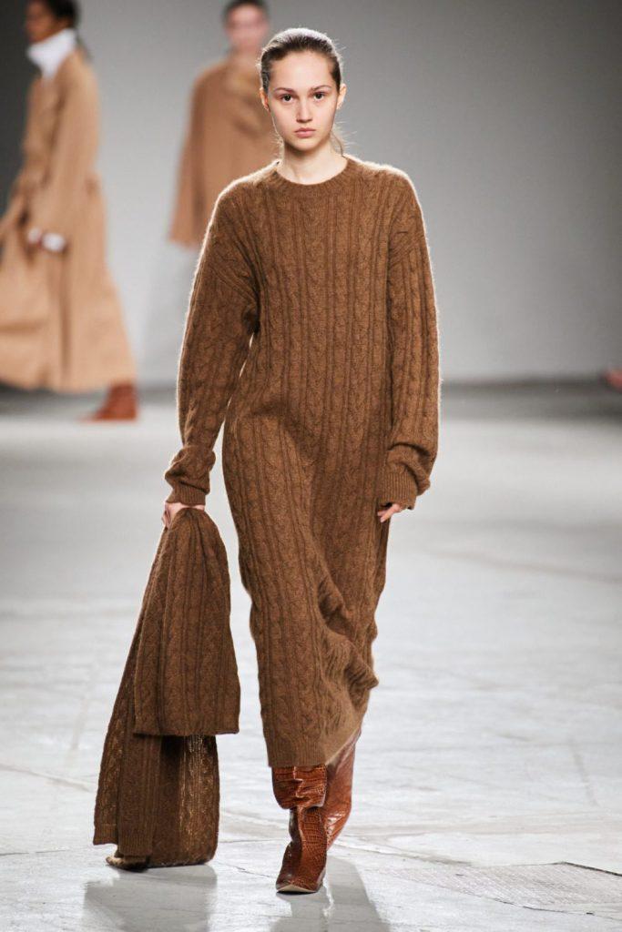 Платья осень зима 2021-2022 года модные тенденции