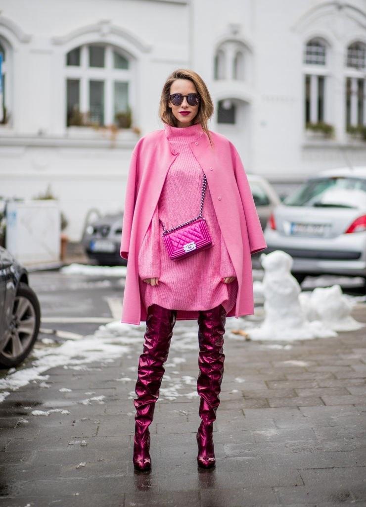 Модные луки зима 2021-2022 фото женские на каждый день