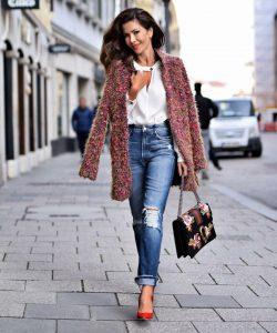Модные луки осень 2021 фото женские на каждый день