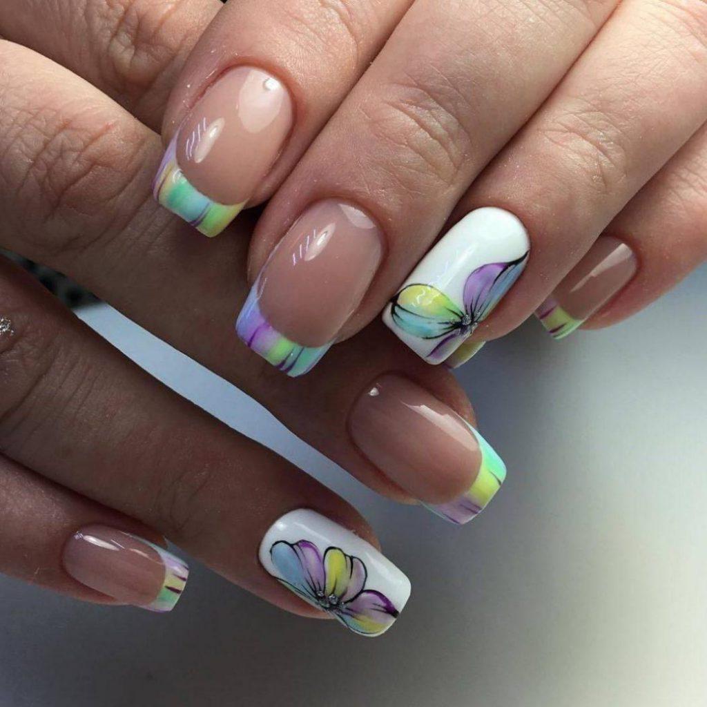 Летний дизайн ногтей 2021 фото новинки